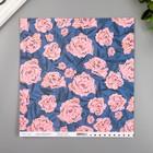 """Бумага для скрапбукинга Crate Paper """"Wallflower"""" 30.5х30.5 см, 190 гр/м2"""