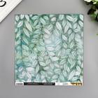 """Бумага для скрапбукинга Vicki Boutin """"Greenery"""" 30.5х30.5 см, 190 гр/м2"""