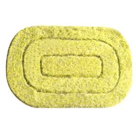 Коврик для ванной комнаты IDDIS illusion MID234M, 60х90 см, yellow, микрофибра