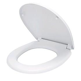 Сиденье для унитаза IDDIS 142PPS0I31, микролифт, полипропилен, белое