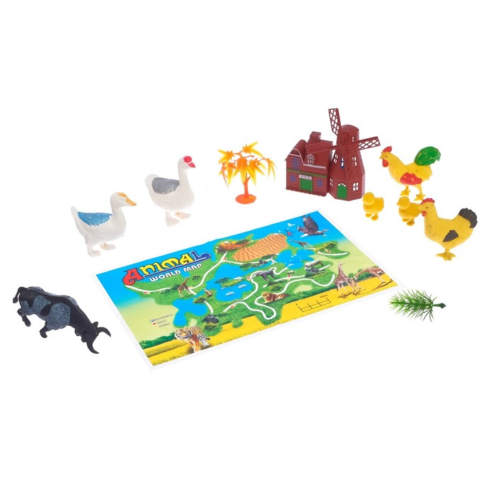 Набор животных «Ферма» - фото 105500235