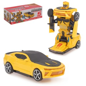 Робот-трансформер «Автобот», световые и звуковые эффекты, работает от батареек