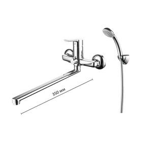 Смеситель для ванны Milardo Stripe STRSB02M10,  однорычажный, длинный излив 350 мм, хром