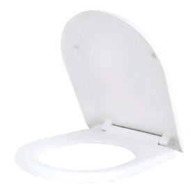 Сиденье для унитаза IDDIS 001DPSEi31, универсальное, микролифт, легкосъемное, дюропласт