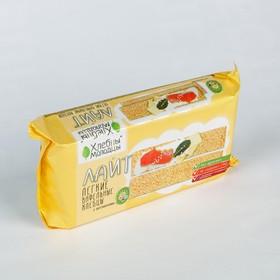 Хлебцы Хлебцы-Молодцы Лайт вафельные с витамином 70г