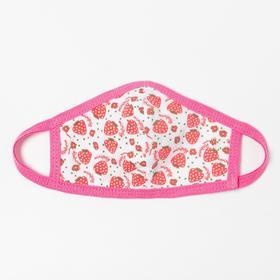 Повязка тканевая для девочки, цвет розовый микс, возраст 3-6 лет в наличии