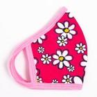 Повязка тканевая для девочки, цвет розовый микс, возраст 7-12 лет в наличии - фото 105802396