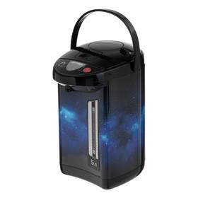 Термопот OPTIMA AP-503S, 900 Вт, 5 л, чёрно-синий
