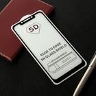 Защитное стекло Cassedy Full Cover, для Xiaomi Pocofone F1, полный клей, чёрная рамка
