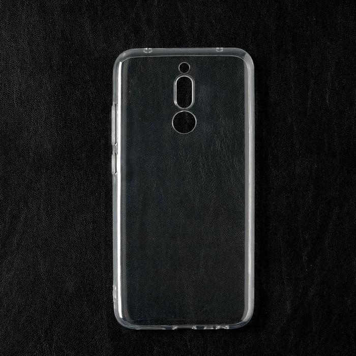 Чехол Qumann, для Xiaomi Redmi 8, силиконовый, прозрачный - фото 71331
