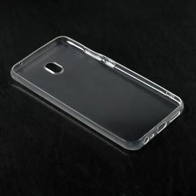 Чехол Qumann, для Xiaomi Redmi 8A, силиконовый, прозрачный - фото 71344