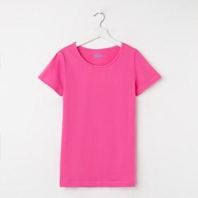 Футболка Classic, цвет розовый, рост 158-164 см