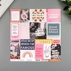 """Бумага для скрапбукинга Crate Paper """"Collage"""" 30.5х30.5 см, 190 гр/м2"""
