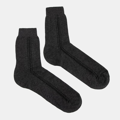 "Men's socks, ""the Economy and"" color graphite R-R 27"
