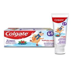 Зубная паста Colgate «Клубника и мята», детская, от 6-9 лет, с фторидом, 60 мл