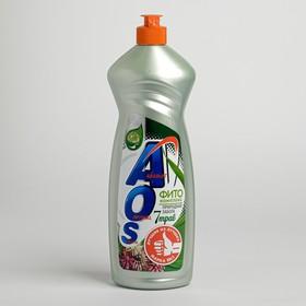 AOS 900мл Средство для мытья посуды Фитокомплекс 7 трав