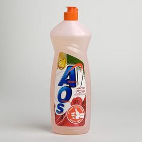 AOS 900 мл Средство для мытья посуды Масло розы