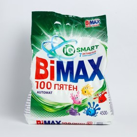 Стиральный порошок Bimax Компакт 100 пятен автомат 4500 гр.м/у