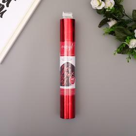 """Клеевой винил American Crafts """"Crimson Foil"""" 30.5х120 см"""