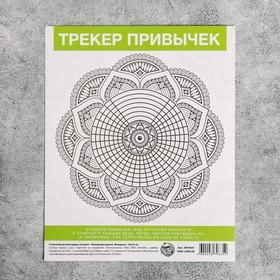 Спортивный календарь-планинг «Трекер фигурный», 18 × 22 см