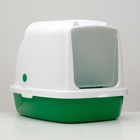 Туалет закрытый «Айша», 53 × 39 × 40 см, зеленый