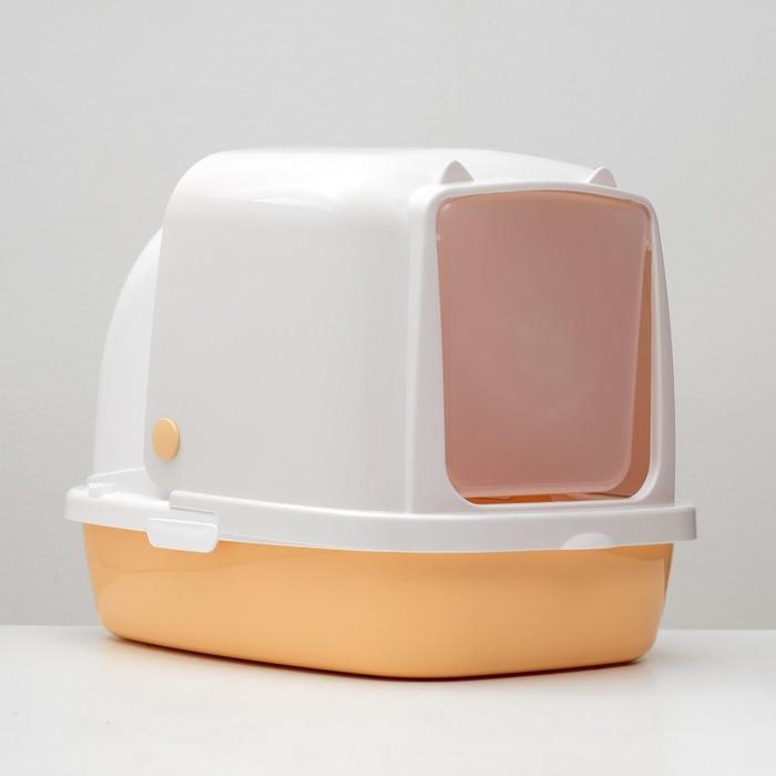 Туалет закрытый «Айша», 53 × 39 × 40 см, бежевый