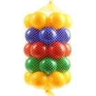 Набор из 35 шариков, диаметр 8 см., цвета МИКС
