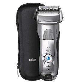 Бритва Braun 7893s Series 7, сеточная, сухое/влажное бритье, от аккумулятора, серебристая