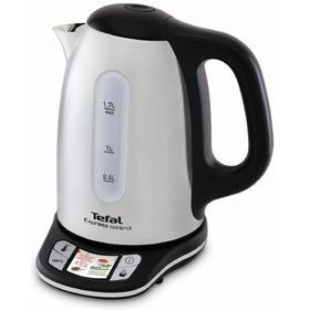Чайник Tefal KI240D30, 2400 Вт, 1.7 л, металл, регулировка температуры, цвет стальной