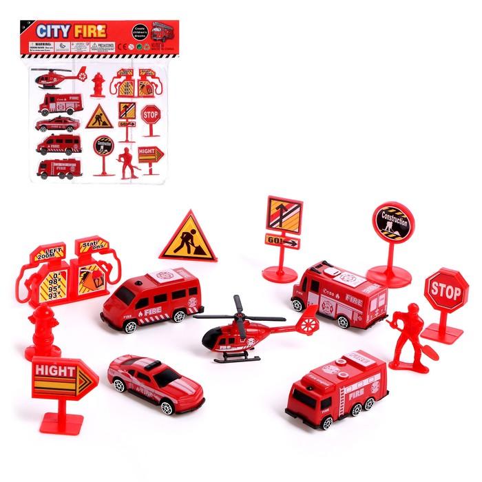 Набор игровой «Пожарная служба» - фото 1021414