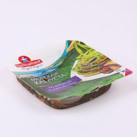 Морская капуста по-корейски с баклажанами Санта Бремор 150г  п/б