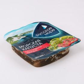 Морская капуста с луком и сладким перцем Русское море 200г п/б Наша Рыба
