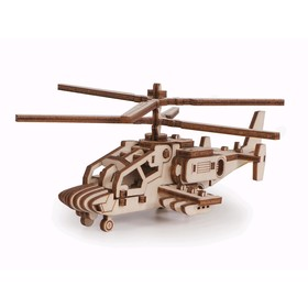 Деревянный конструктор «Вертолёт Акула»