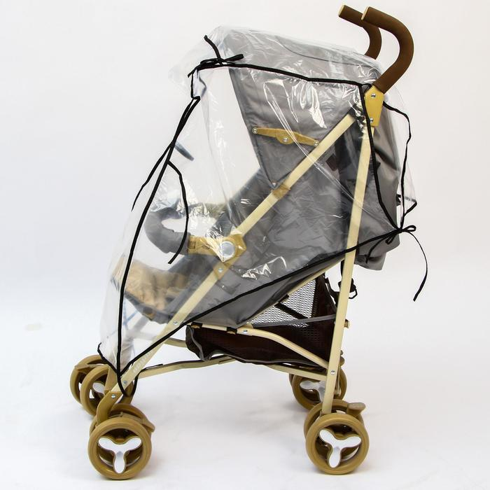 Дождевик на прогулочную коляску, ПВД - фото 105546263