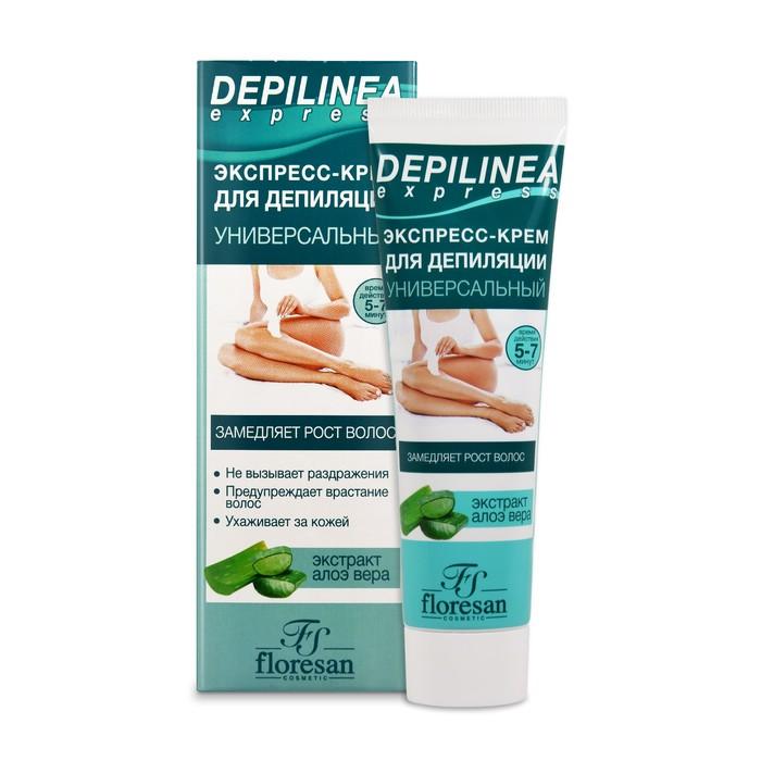 Экспресс-крем для депиляции Floresan Depilinea универсальный, 100 мл