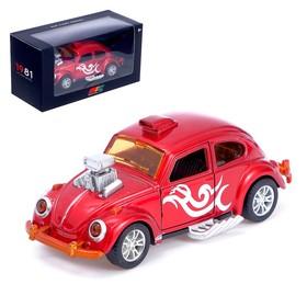 Machine metal beetle, inertial, MIX
