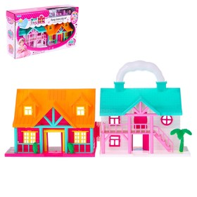 """A DOLL's HOUSE """"the Cottage"""" 2in1, foldable furniture no SL-0558 MIX 517219"""