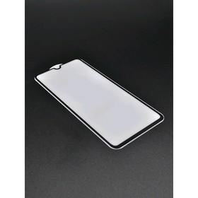 Защитное стекло 2D Innovation для Samsung A70, полный клей, черная рамка