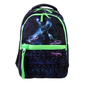 Рюкзак молодежный deVENTE Big Zip, 40 х 29 х 19 см, DJ