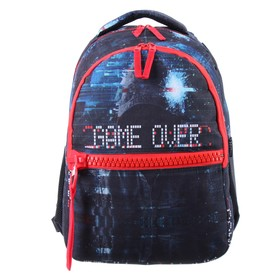 Рюкзак молодежный deVENTE Big Zip, 40 х 29 х 19 см, Game over