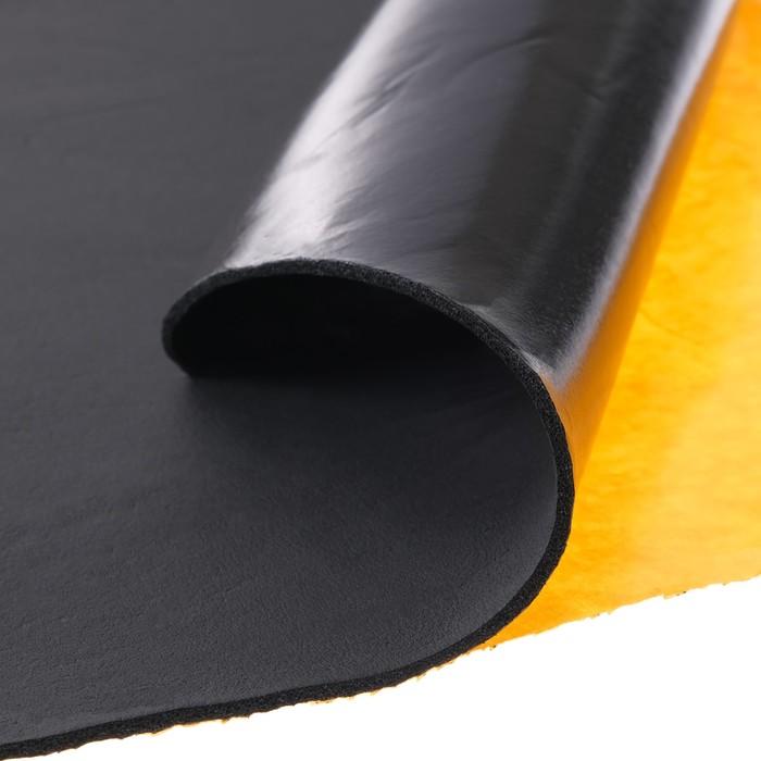 Теплозвукоизоляционный материал Стандарт Flex 3, размер: 3х1000х750 мм
