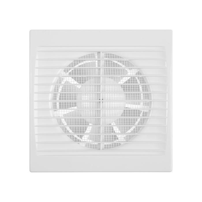 """Вентилятор вытяжной """"РВС"""" Сириус 125, d=125 мм, цвет белый - фото 7386322"""