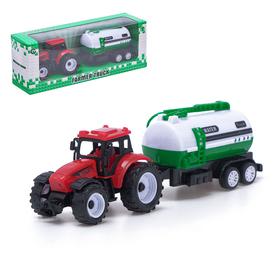 Трактор инерционный «Сельхозтехника», с прицепом