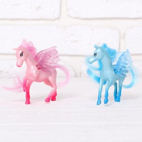 Horse set 2pcs., MIX