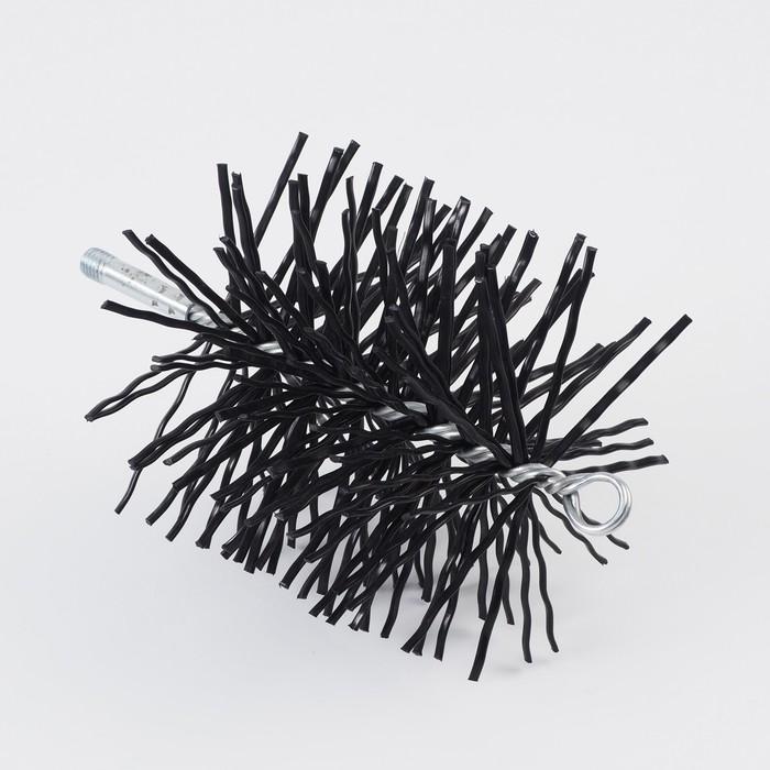 Щетка Ерш трубочист, диаметр 150 мм, нейлон