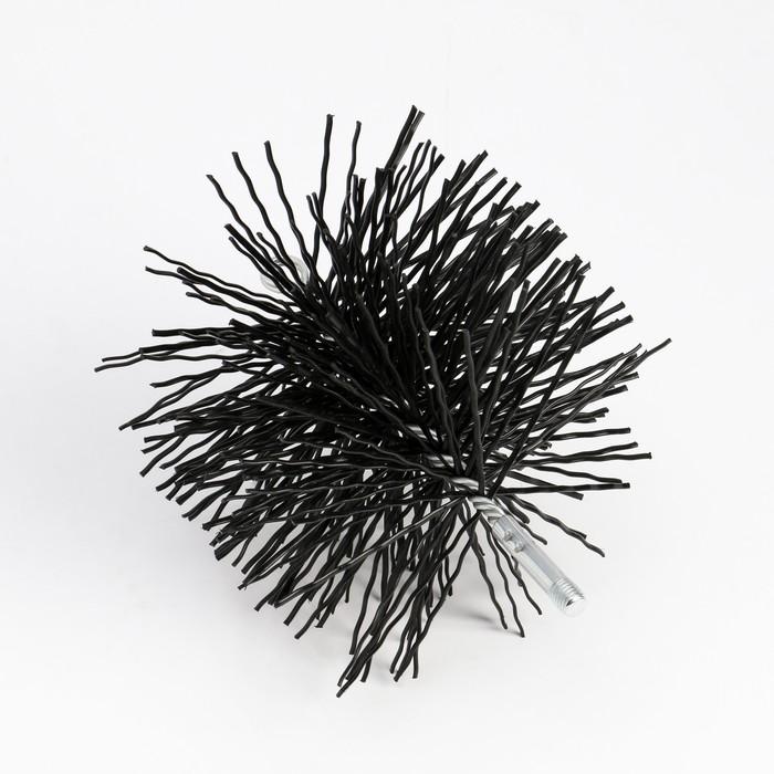 Щетка Ерш трубочист, диаметр 200 мм, нейлон