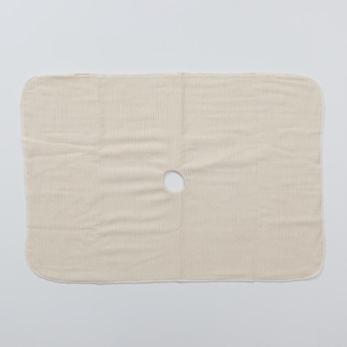 Салфетка для пола с отверстием 3-х слойная «Эконом», 50×80 см, оверлок, неткол - фото 4648361
