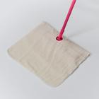 Салфетка для пола с отверстием 3-х слойная «Эконом», 50×80 см, оверлок, неткол - фото 4648363