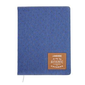Дневник универсальный для 1-11 классов Golden dots on the jeans, твёрдая обложка, шелкография, тиснение фольгой, ляссе, тонированный блок