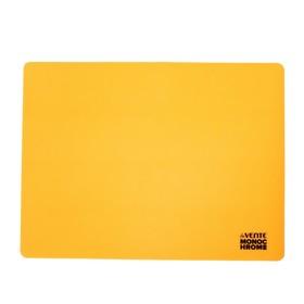 Накладка на стол силикон А3, 400 х 300 мм, Monochrome неон оранжевое, в пластиковом боксе
